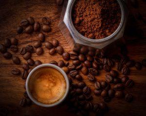 koffie dessert nagerecht assen